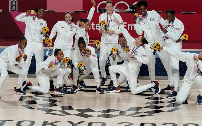 USA Women's Basketball team, Tokyo Olympics 2020, gold medal
