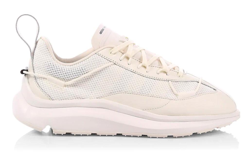 white sneakers, mesh, womens, y3