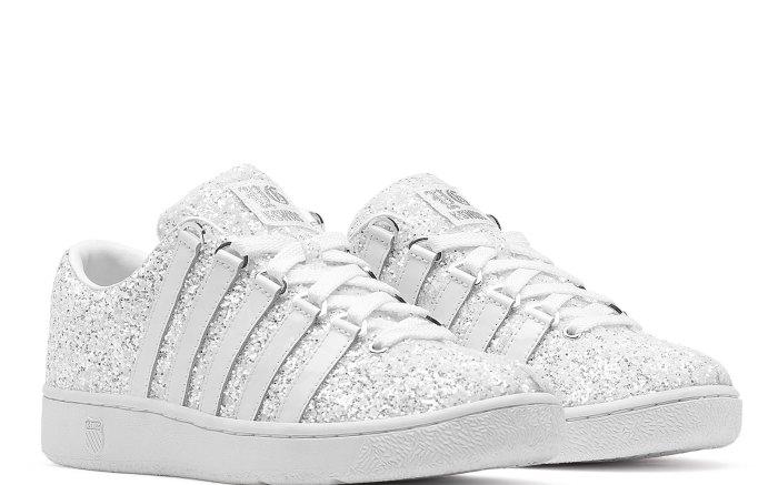 yg kswiss disco glitter shoes