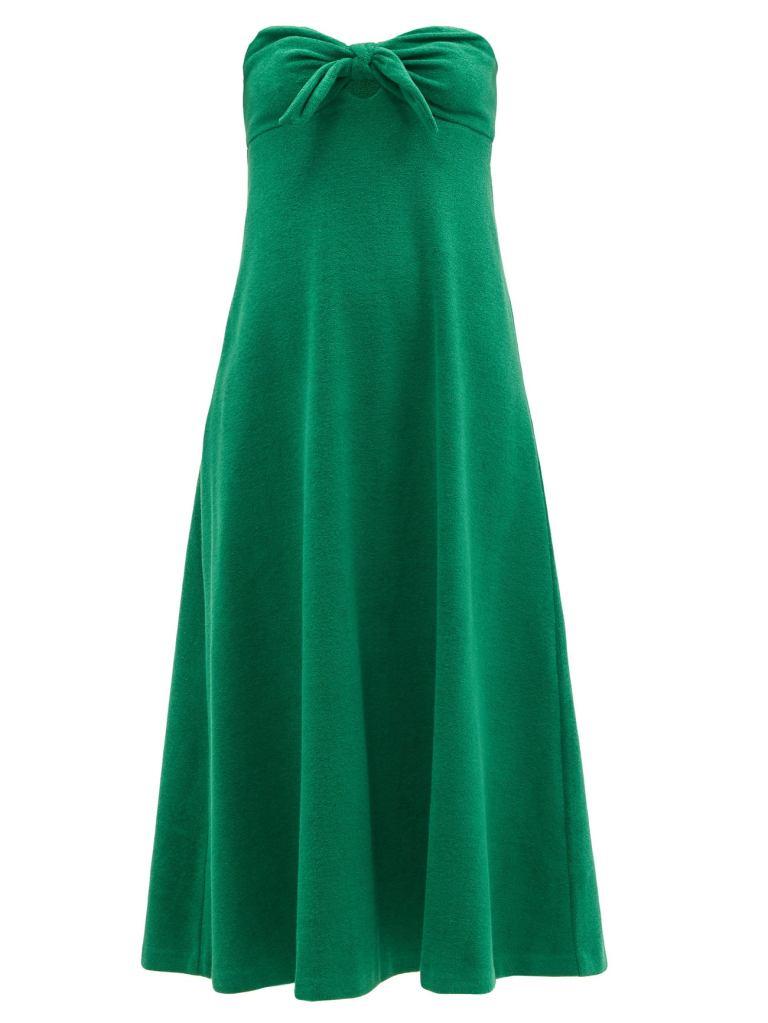 green dress, terry, zimmermann