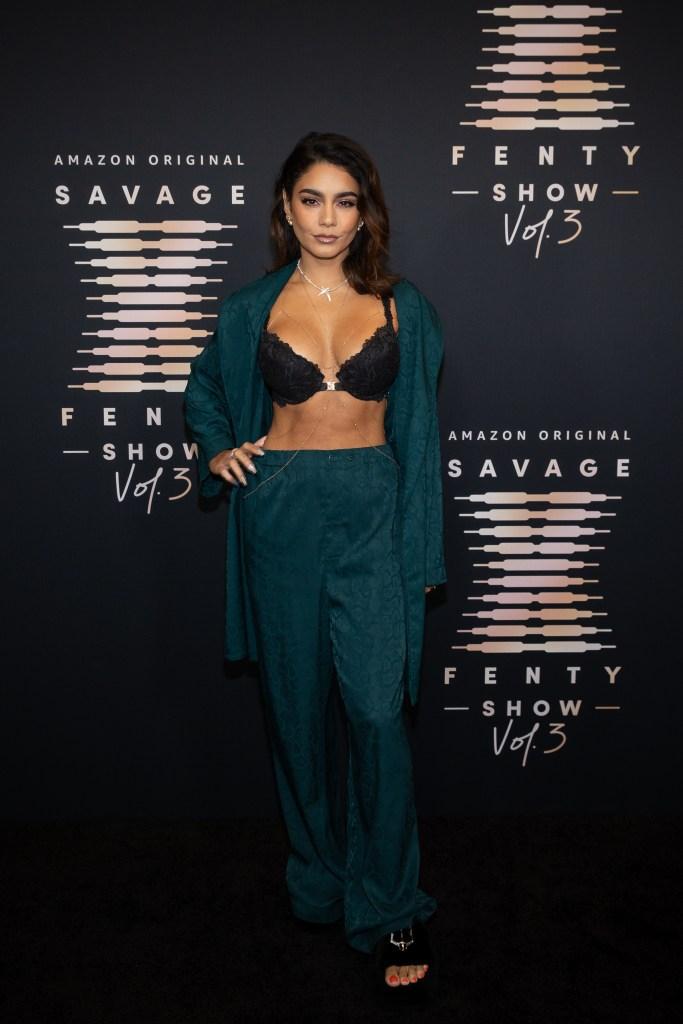 Vanessa Hudgens, Savage X Fenty, Rihanna, lingerie, Amazon Prime Video