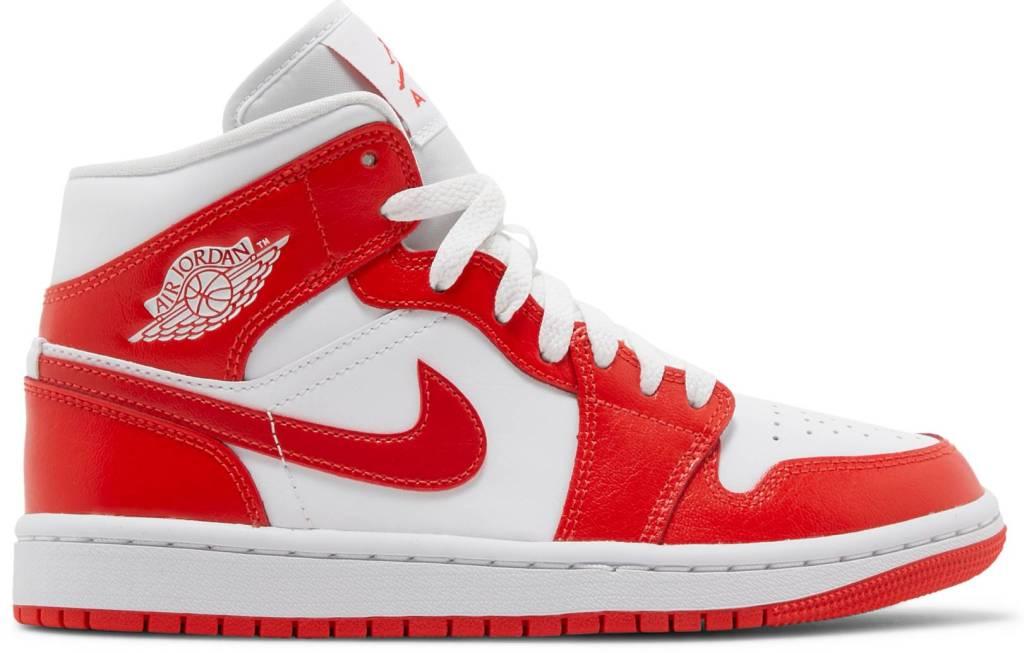 Air Jordan, red sneakers, athletic sneakers