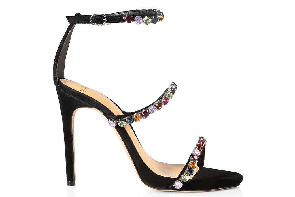 Alexandre Birman Alexa Crystal Sandals