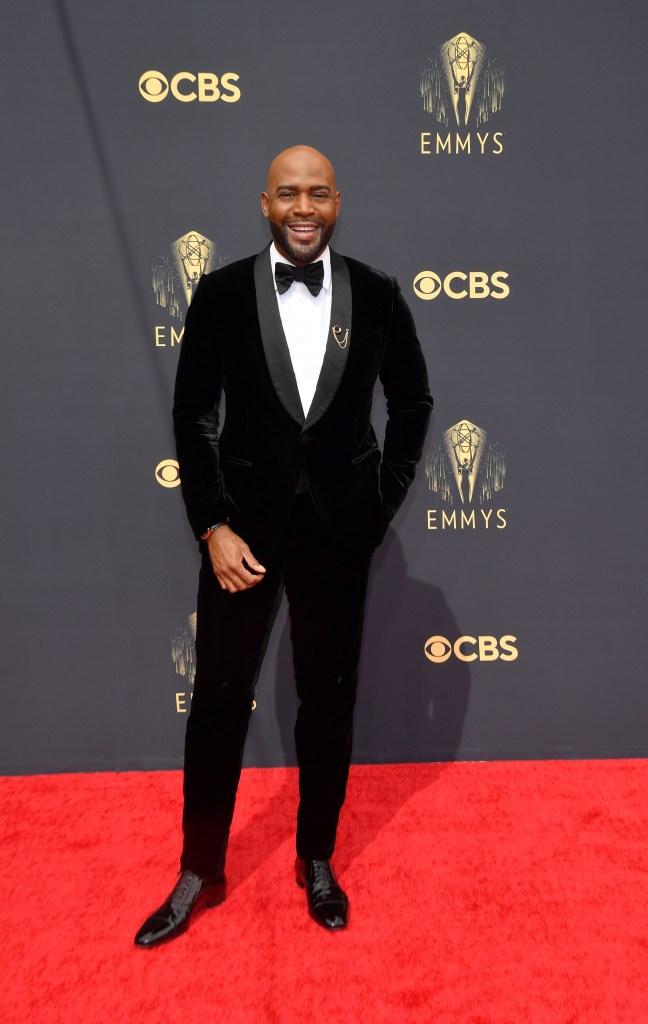 Karamo Brown at the 73rd Primetime Emmy Awards held at L.A. Live on September 19, 2021.