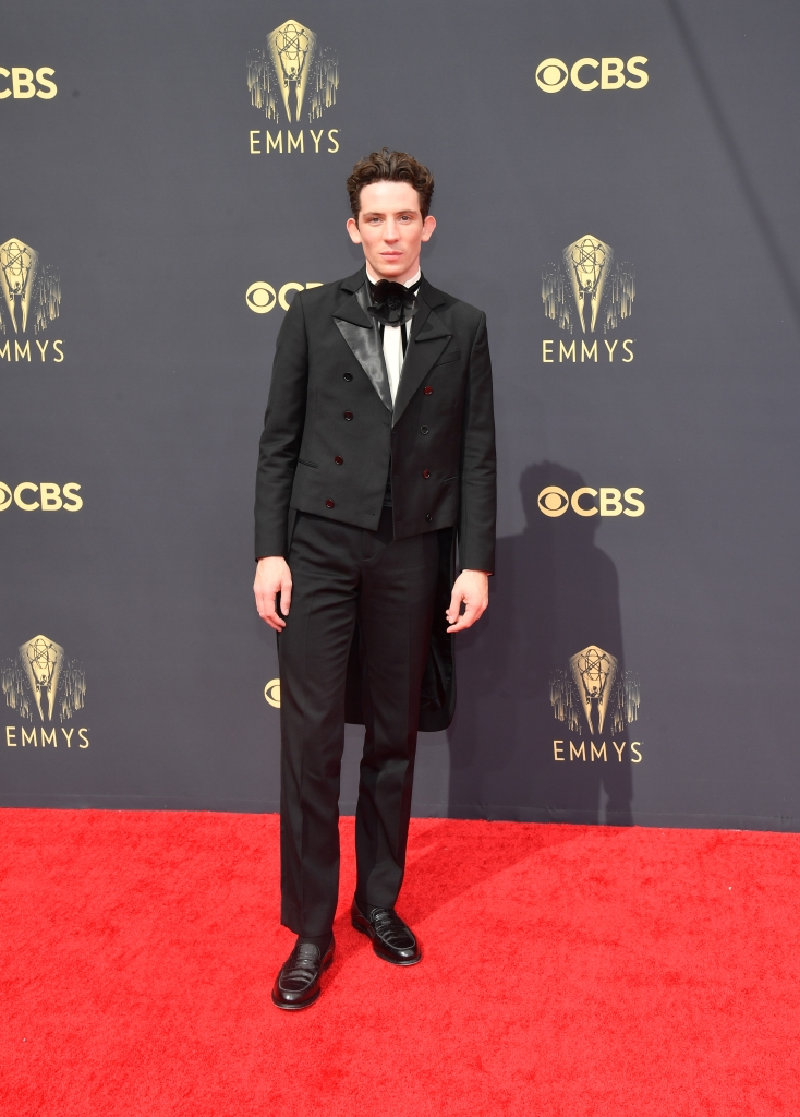 Josh O'Connor, Emmy Awards, red carpet
