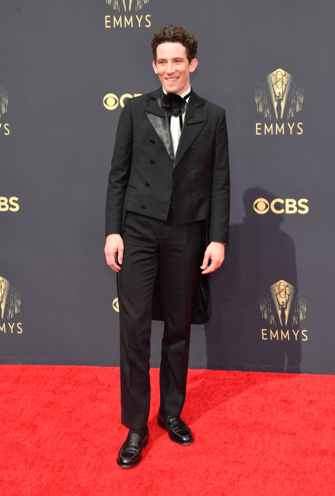 Josh O'Connor at the 73rd Primetime Emmy Awards held at L.A. Live on September 19, 2021.