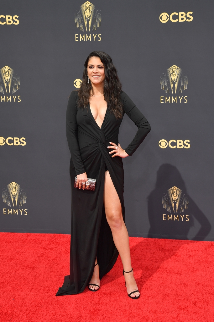 Cecily Strong at the 73rd Primetime Emmy Awards held at L.A. Live on September 19, 2021.