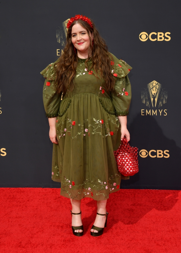 Aidy Bryant at the 73rd Primetime Emmy Awards held at L.A. Live on September 19, 2021.