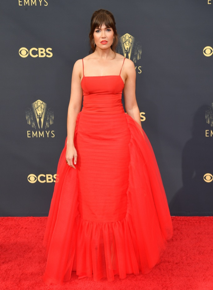 Mandy Moore, Emmys, Louboutin