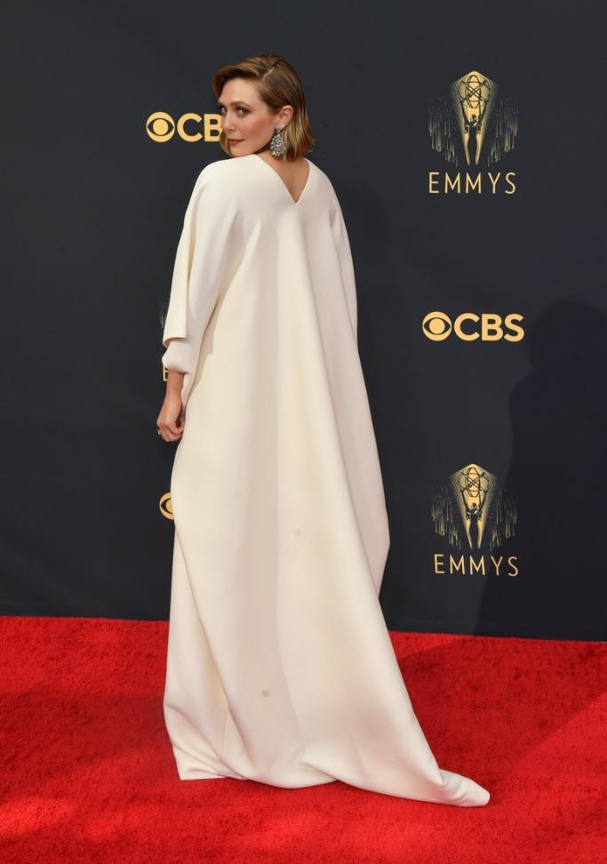 Elizabeth Olsen, The Row, Emmys, Stuart Weitzman