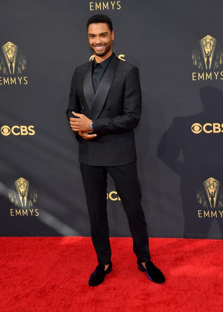 Regé-Jean Page, Emmy Awards, red carpet