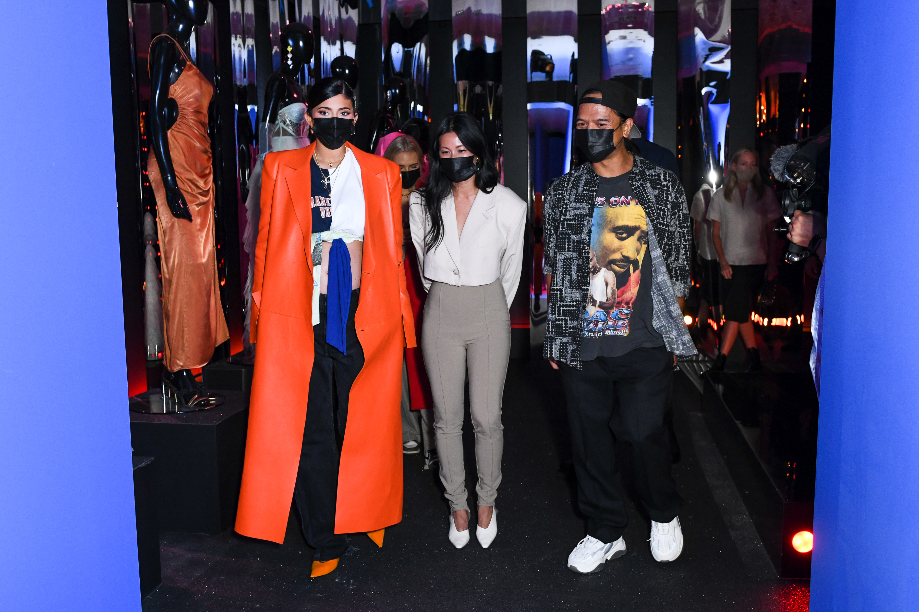 Kylie Jenner, Revolve, Revolve Gallery, New York Fashion Week, Hudson Yards