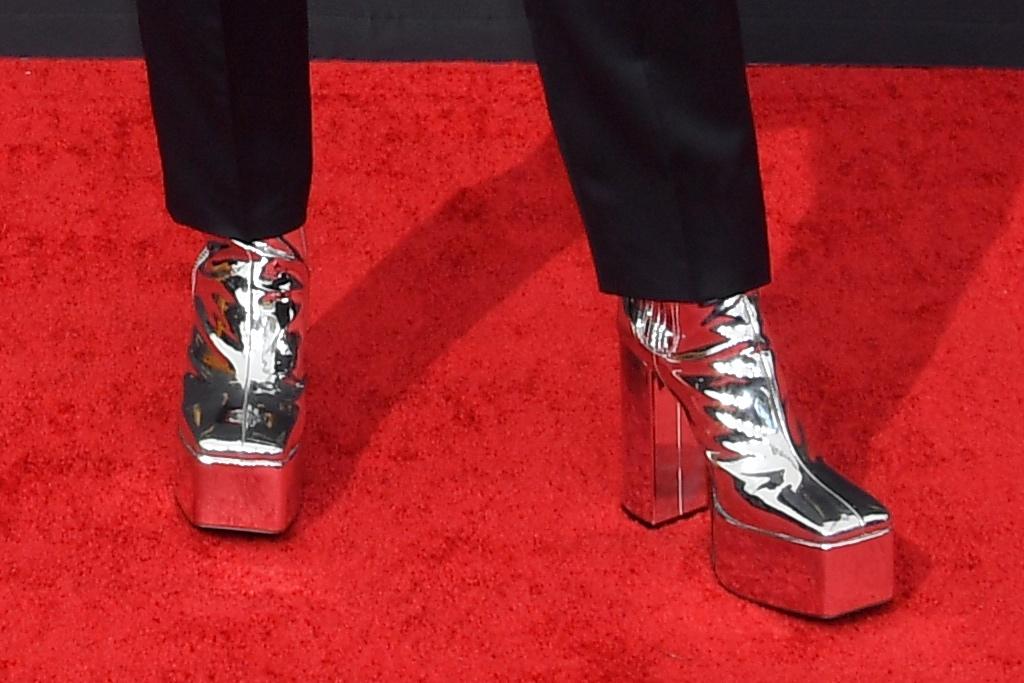 Bowen Yang, Syro, ankle boots, platform boots, Zegna, Tiffany & Co.