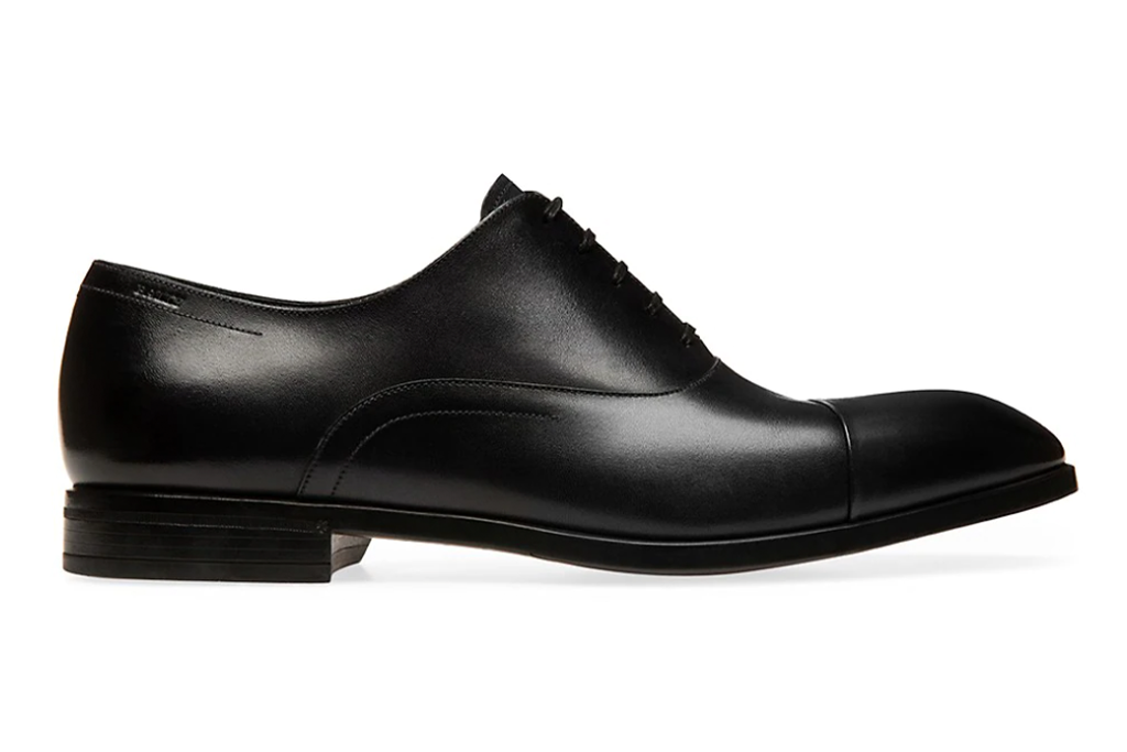 Bally Lancy Lizzar Leather Oxford Loafers