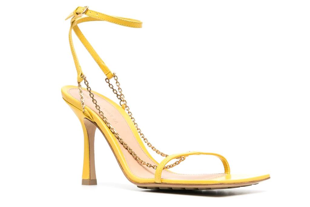 Bottega Veneta Chain-Link Sandals
