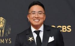 Bowen Yang. emmys, red carpet