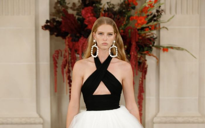 carolina herrera, carolina herrera anniversary, nyfw, new york fashion week, fashion, runway