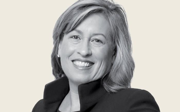 Nordstrom CFO Anne Bramman is pictured in the Puget Sound Business Journal (PSBJ) photo studio, Feb. 24, 2019.