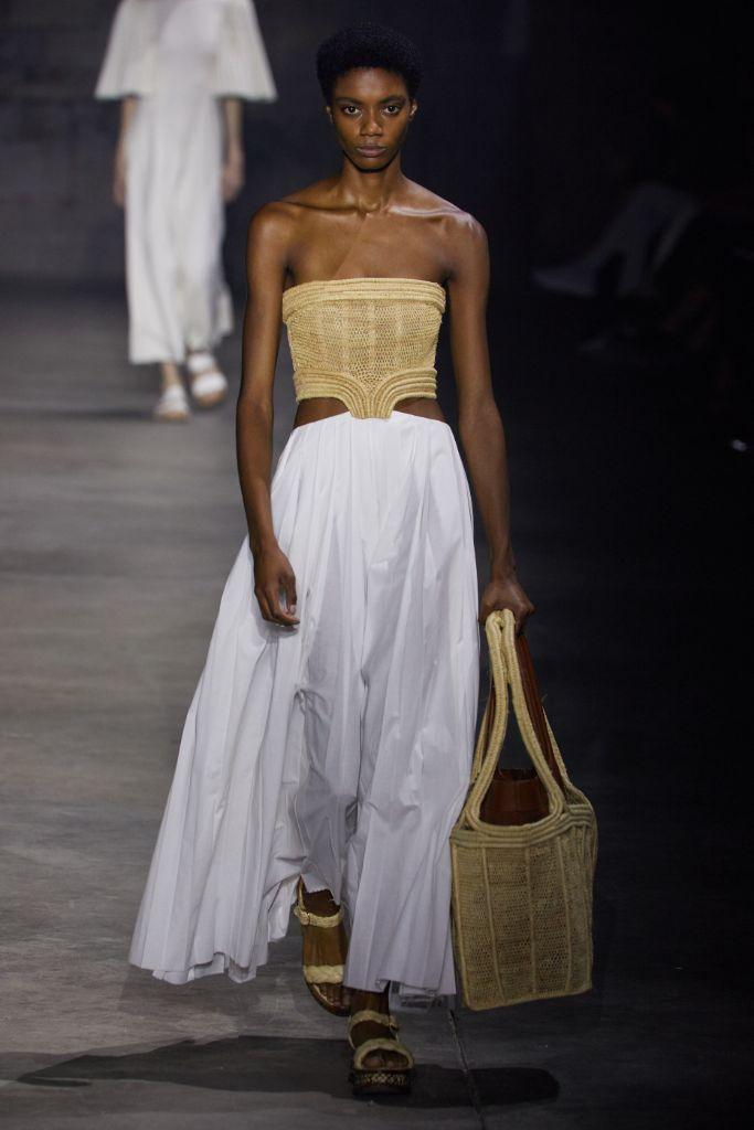 nyfw, nyfw spring 2022, new york fashion week, gabriela hearst, gabriela hearst spring 2022, sustainable fashion