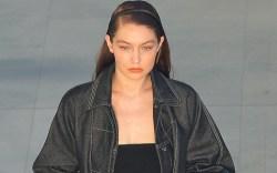 Gigi Hadid, Max Mara, Milan Fashion