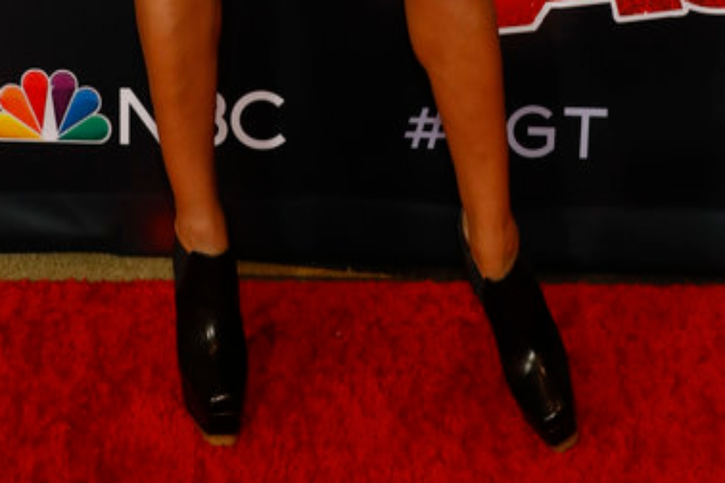 Heidi Klum, Vera Wang, America's Got Talent, Jennifer Fisher, ankle boots