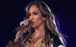 Jennifer Lopez, Dolce and Gabbana, leather
