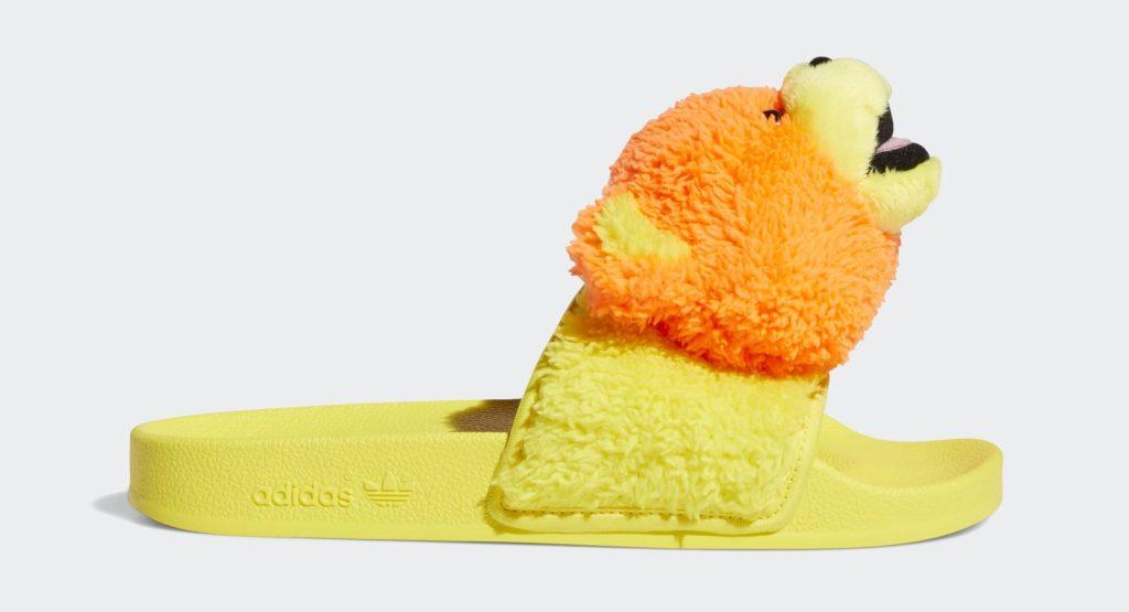 Jeremy Scott x Adidas Adilette Teddy Slides