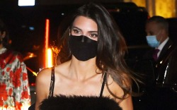 Kendall Jenner Flapper Chic