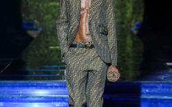 Versace + Fendi Collaboration at Milan Fashion Week