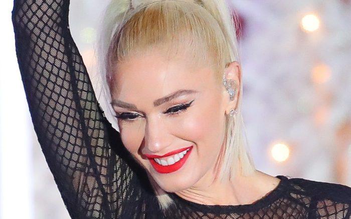 Gwen Stefani performs at Rockefeller center in NYC on Nov 14, 2019