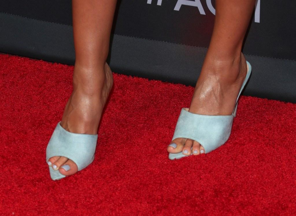 Heidi Klum, Femme LA, mules, Zimmermann, floral dress, America's Got Talent