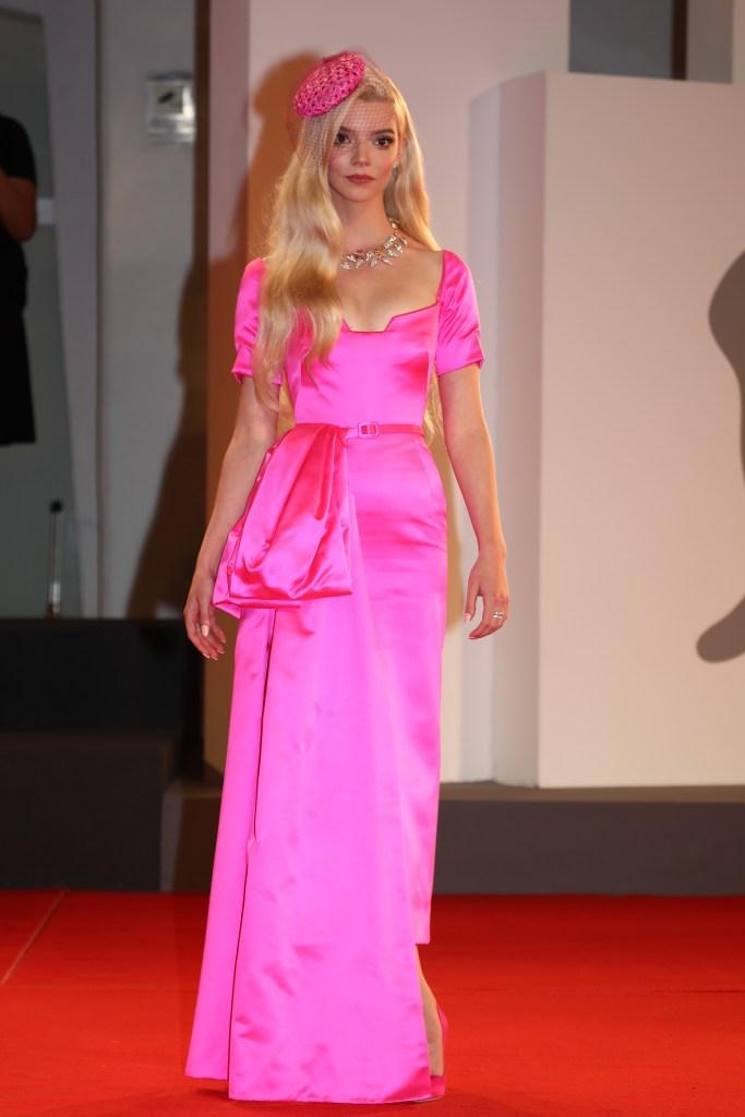 Anya Taylor-Joy, Dior, Tiffany & Co., Venice Film Festival