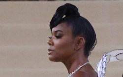 GABRIELLE UNION attends the Met Gala