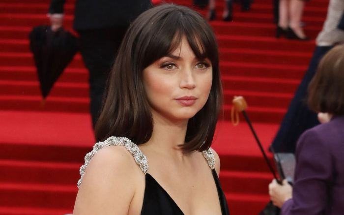 louis vuitton dress, Ana de Armas at the No Time to Die World Premiere held at the Royal Albert Hall - London, England - 28.09.21. 28 Sep 2021 Pictured: Ana de Armas No Time to Die World Premiere