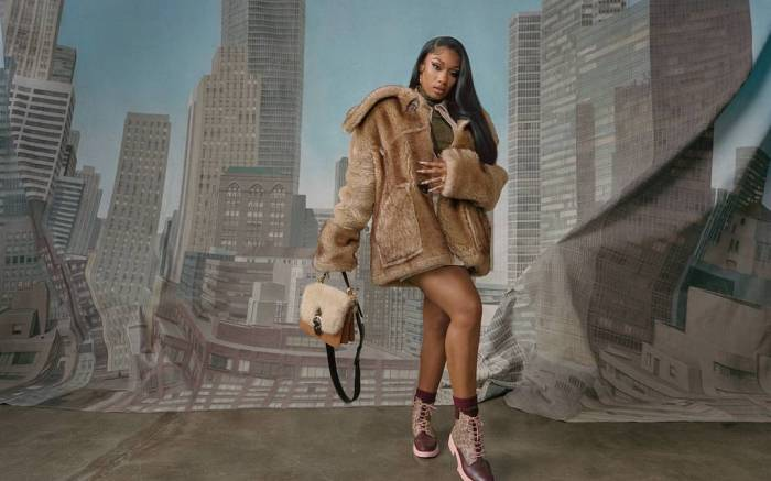 Megan Thee Stallion stars in new Shearling campaigns for Coach