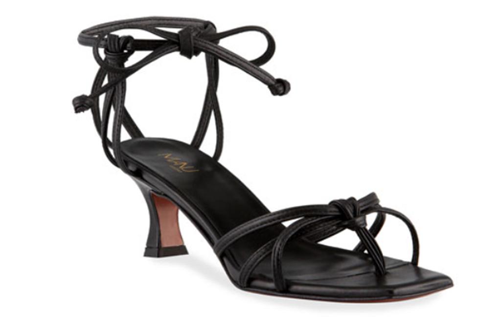 Napa Manu Atelier 50mm ankle strap sandals