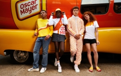 Models wearing the Oscar Mayer Street