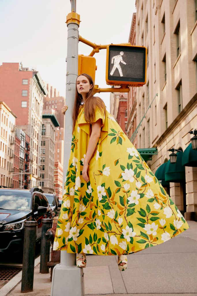 oscar de la renta, larroudé, nyfw, new york fashion week, spring 2022