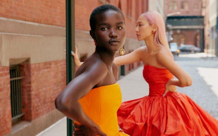 nyfw trends, color trends, spring 2022 color trends, nyfw color trends, oscar de la renta, new york fashion week