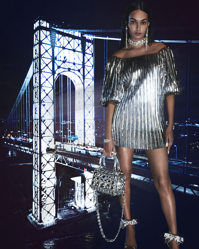 A look from Rebecca Minkoff's fall/holiday collection.