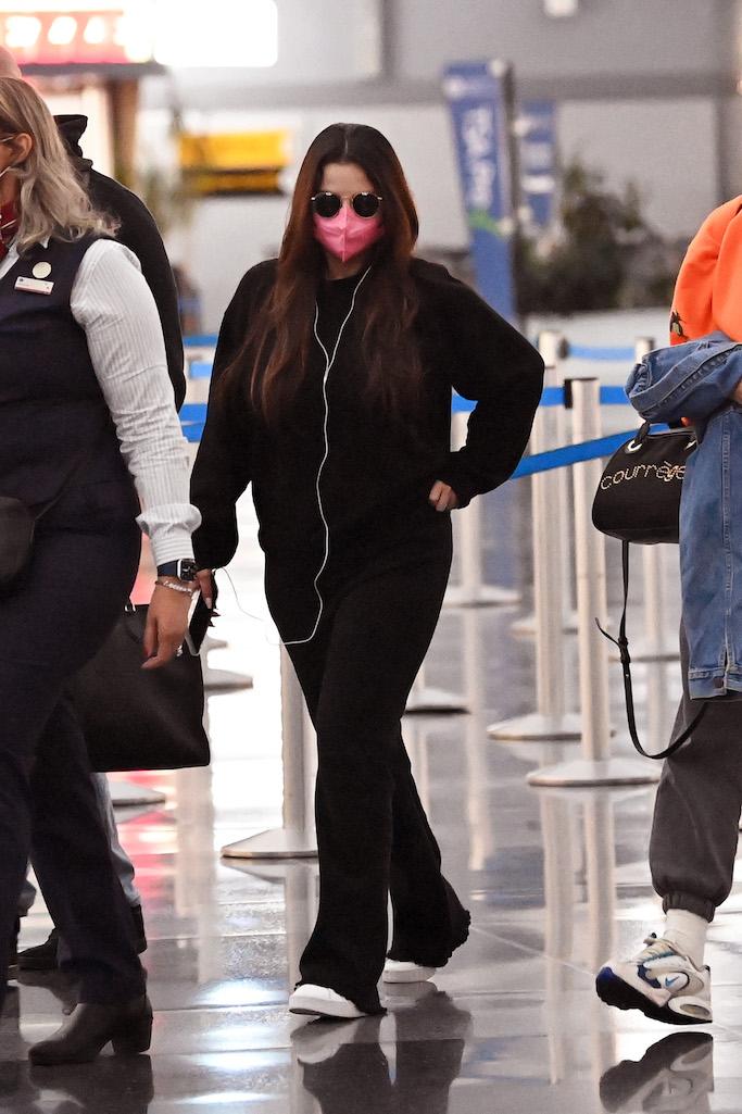 Selena Gomez is seen arriving at JFK International Airport New York City