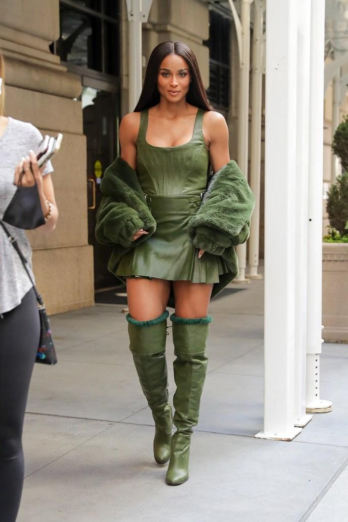 Ciara, Dundas, Revolve, New York Fashion Week