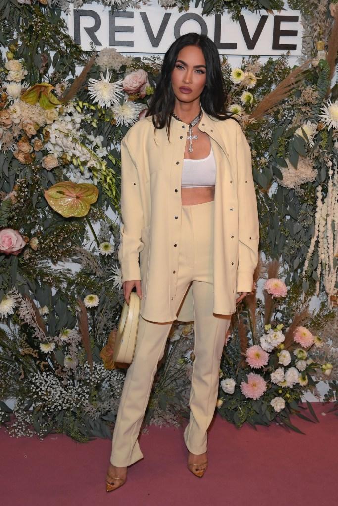 Megan Fox, Andrea Wazen, Paris Georgia, Coperni, Revolve Gallery, New York Fashion Week, Maeve Reilly