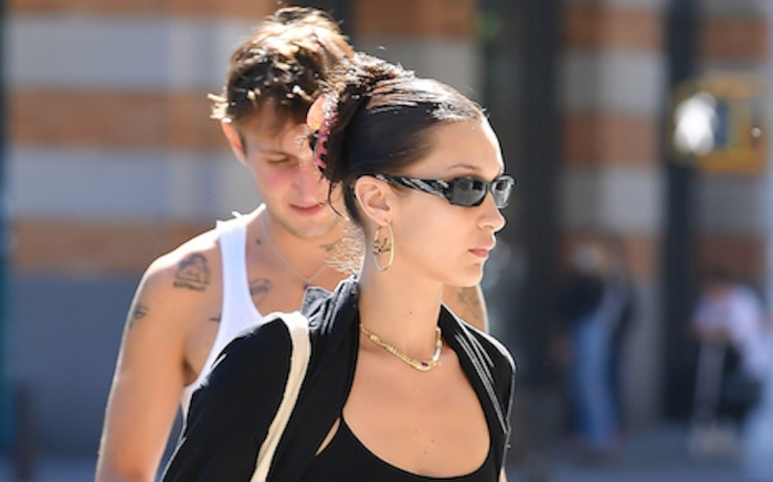 Bella Hadid Spotted Out With Brother Anwar Hadid In New York City