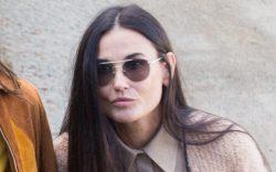 Demi Moore and her Daughter Scout