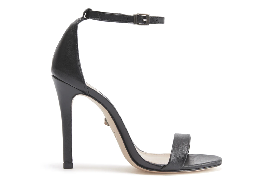 Schutz Cadey-Lee Leather Sandal in Black Cadey-Lee Leather Sandal in Black Cadey-Lee Leather Sandal