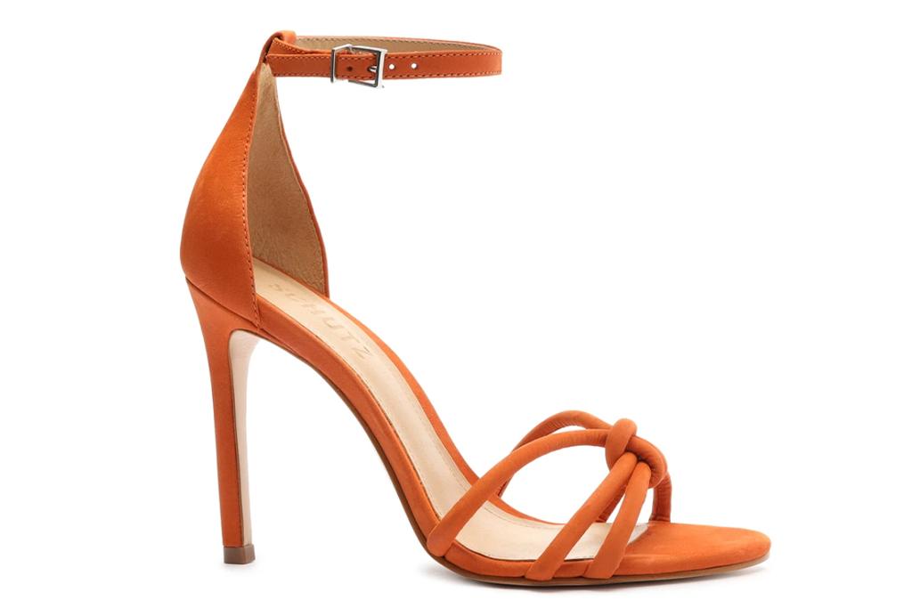 Schutz Khemira Nubuck Leather Sandal
