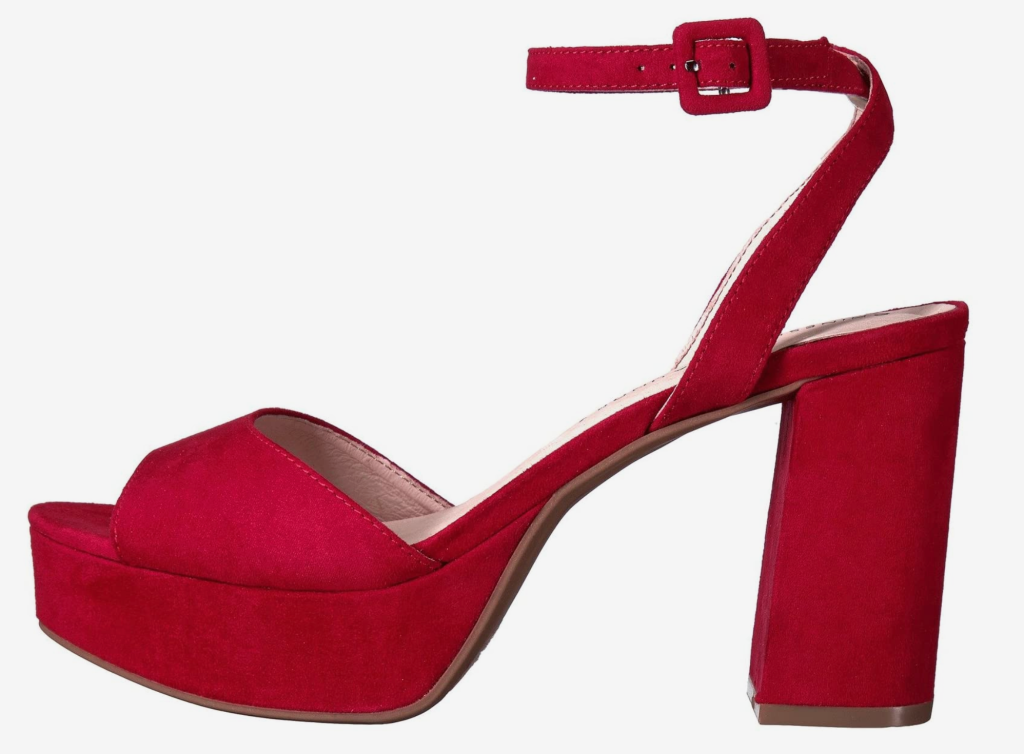 Chinese Laundry, red sandals