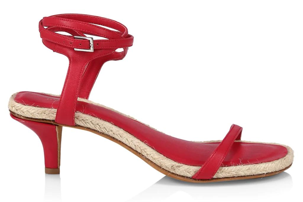3.1 Phillip Lim, red sandals