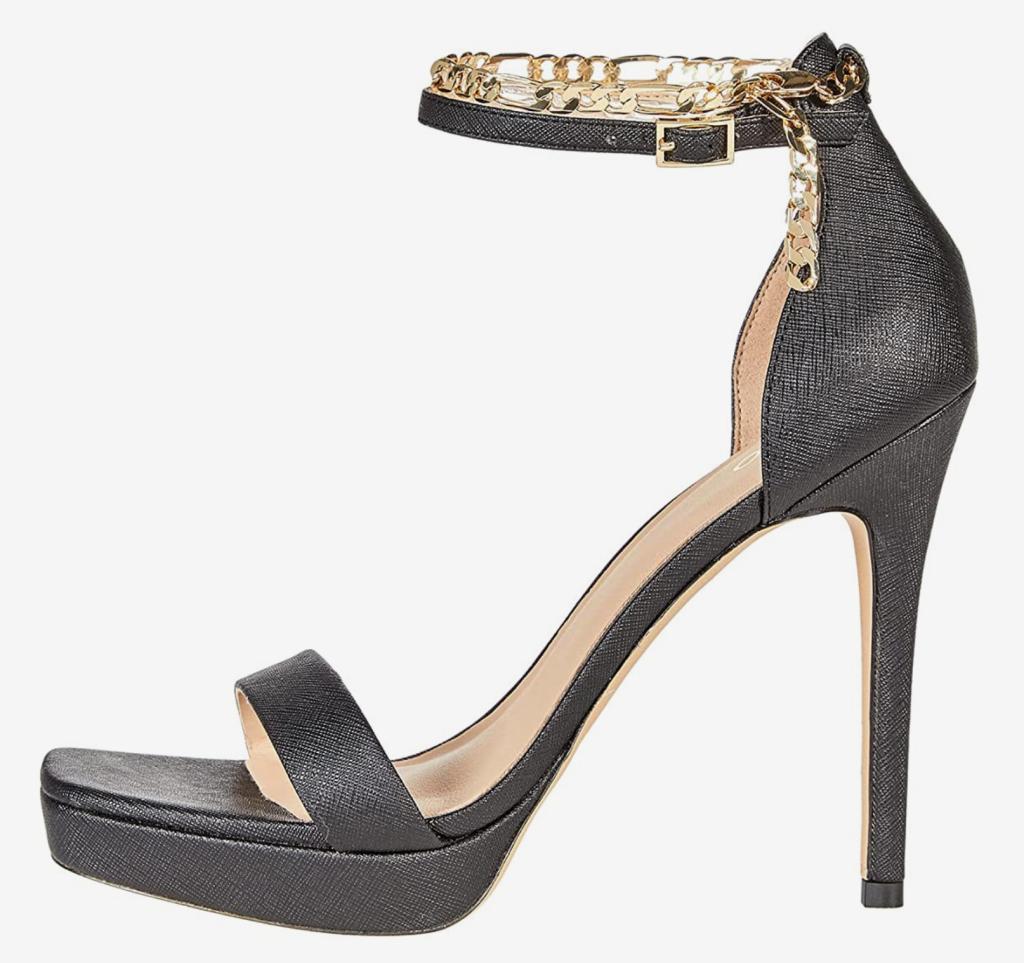 Aldo, sandals, chain sandals